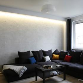 beton w salonie