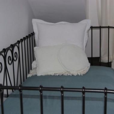 Sypialnia, po romu od ostatniej publikacji, w zimowej aurze...