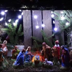 Szopka świąteczna