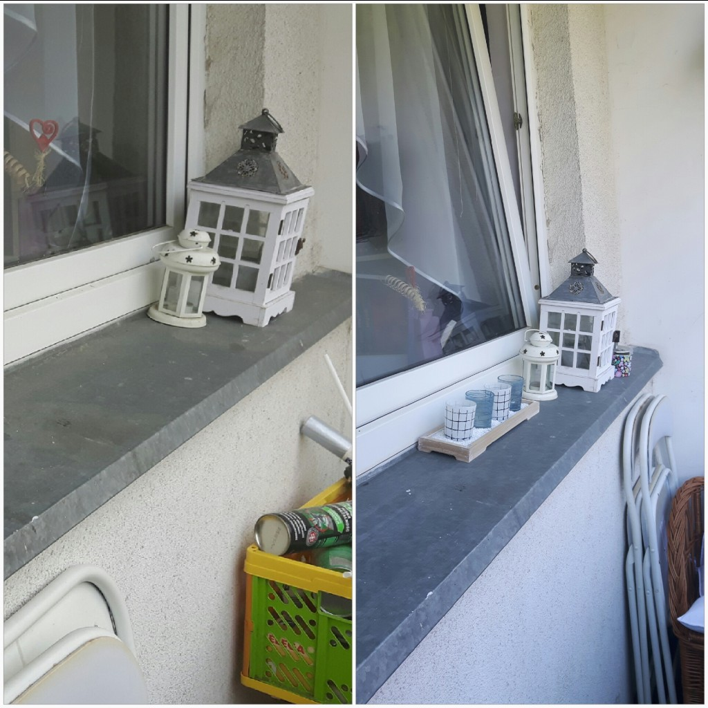 Balkon, Mały balkonik po zmianie
