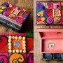 Dekoracje, DREWNIANE-RĘCZNIE MALOWANE -szkatułki - dla nastolatki