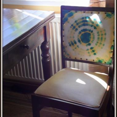 Pierwsze próby tapicerskie:)