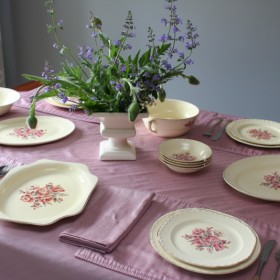 wiosenno-letni stół