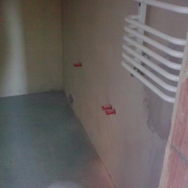 Łazienka przed aranżacją