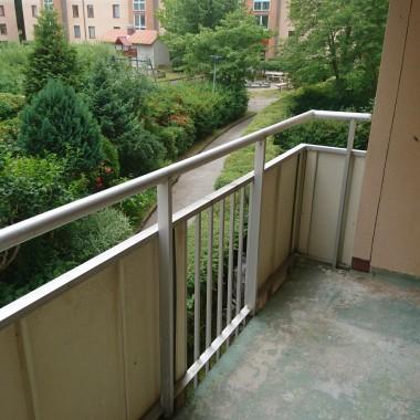 Małe zmiany na balkonie...