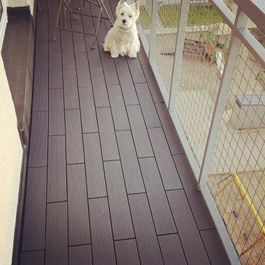 Aranżacja nowego balkonu