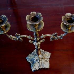 Dekoracja stołu Najładniejszy świecznik 3 ramienny Rękodzieło