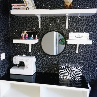 Toaletka zamiast komody malm.