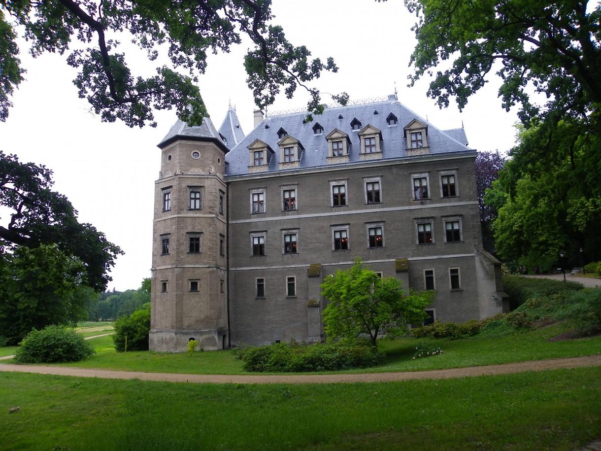 Pozostałe, Arboretum w Gołuchowie - Park i zabudowania cz 1 - Gołuchów zamek