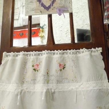"""a to moje"""" perełeczki"""" haftowane śnieżno-białe bardzo eleganckie,oczywiście dwustronne"""