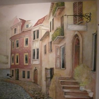 Malarstwo ścienne, przedpokój