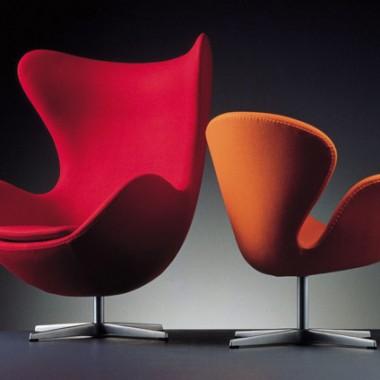 Najsłynniejsze fotele i krzesła powstały w latach 50, popularne są do dzisiaj