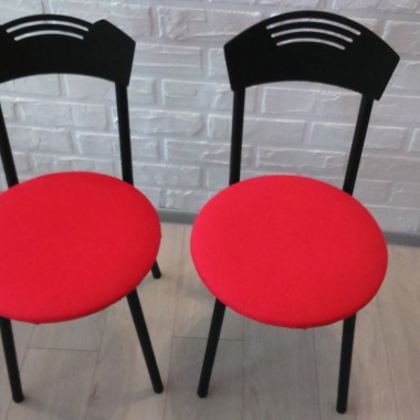 DIY czerwone krzesło