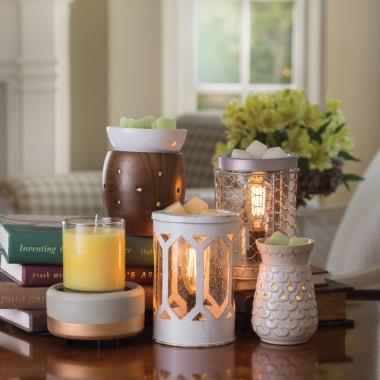 Kominki elektryczne i lampy do świec zapachowych Candle Warmers