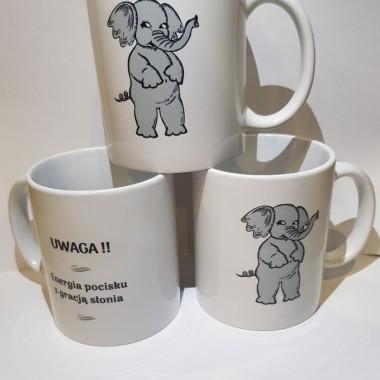 Kubki ceramiczne nadruki autorskie