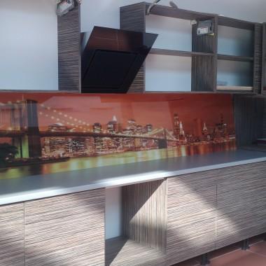 panel szklany do kuchni