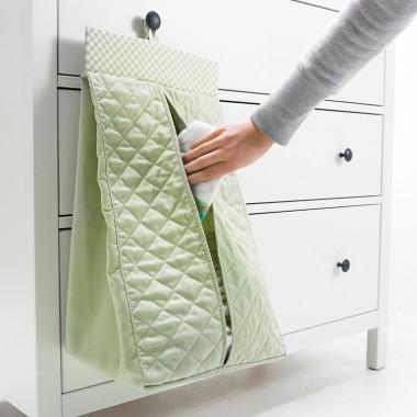NANIG - Wieszak na pieluszki, jasnozielonyCena: 17,99 PLN http://www.ikea.com/pl/pl/catalog/products/50296099/