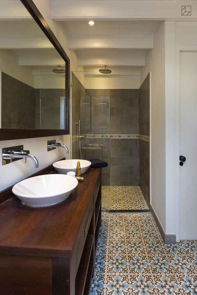 Zdjęcie 33 W Aranżacji Płytki Cementowe łazienka Deccoriapl