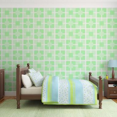 Miętowe inspiracje w dekoracji ścian