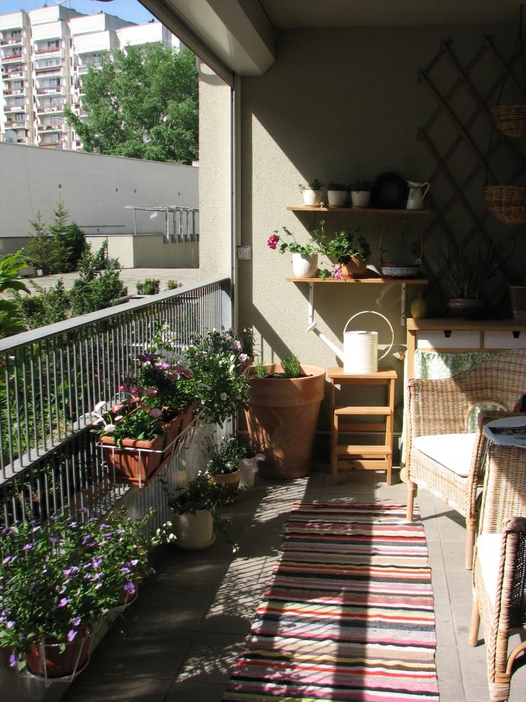 wiosenny balkon