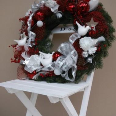 świąteczne wianki