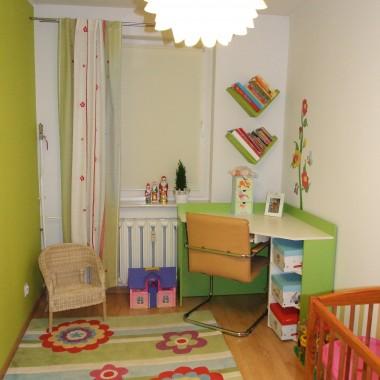 małe zmiany w pokoju córci
