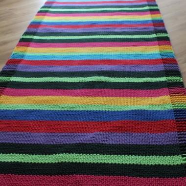 Dywan z bawełnianego sznurka Kolorowy długość- 4mszerokość 80 cmhttp://bogatewnetrza.pl/pl/p/Dywan-recznie-robiony-z-bawelnianego-sznurka-KOLOROWY-DUZY/1117