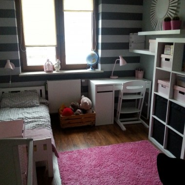 Pokój dziewczynek 1,5 roku i 6 lat