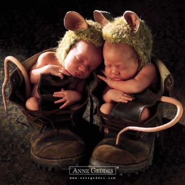 Dzieci oczami Anne Geddes :)