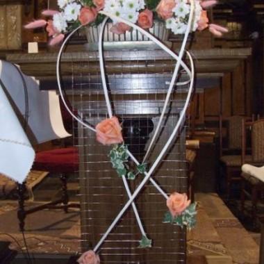 Dekoracje kościołów i sal weselnych