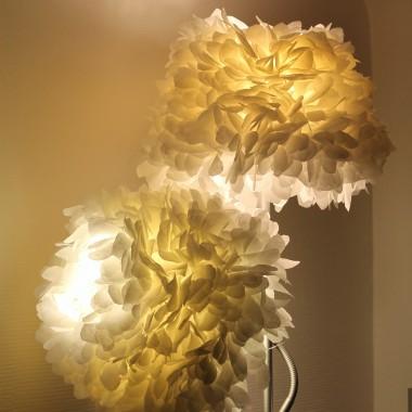 Salon - Lampa podłogowa po kolejnej metamorfozie