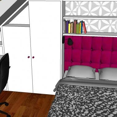 sypialnia dla nastolatki