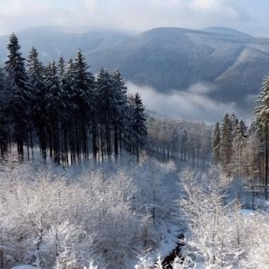 Zima  jest w górach