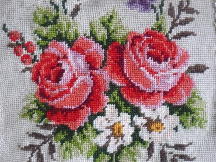 Pozostałe, Letnie klimaty................ - .............i moje haftowane róże ..............