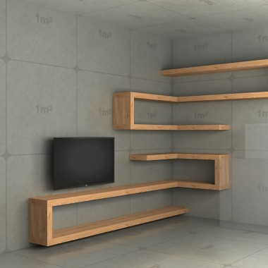 Półki Do Salonu ścianka Telewizyjna Deccoriapl