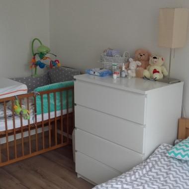 sypialnia w nowym mieszkaniu