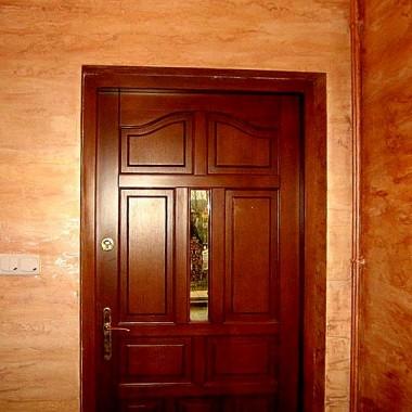 Tynk ozdobny w korytarzu