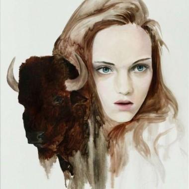 JEN MANN  i jej portrety