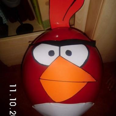 Angry Birds :) Przygotowania do urodzin mojego 6 latka trwaja :