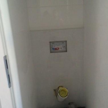 Łazienka w trakcie remontu