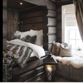 ..domek drewniany