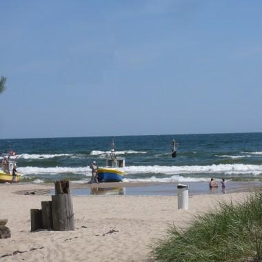 .................i plaża................