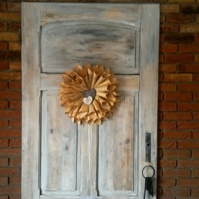 Ozdoba na moich drzwiach,