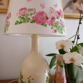 Lampę zrobiłam:)