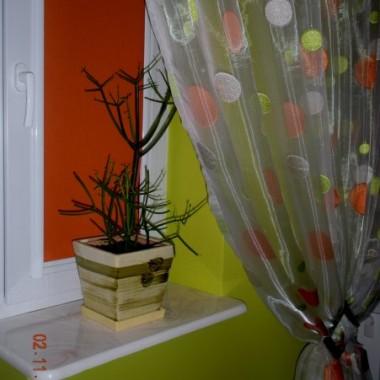 malutkie zmiany w sypialni i w końcu lampa w pokoju u synka :))