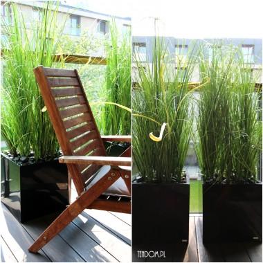 Mili, z radością rozszerzyliśmy ofertę tenDOM.pl o piękne, minimalistyczne trawy sztuczne, które dodadzą uroku tarasom, balkonom, ale także wnętrzom Waszych domów / mieszkań. Ustawione przy szklanych barierkach na balkonach, stworzą ładne, ażurowe przepierzenie. Zimy wprawdzie na zewnątrz nie spędzą, ale przestawione do wnętrza przetrwają bez problemu.