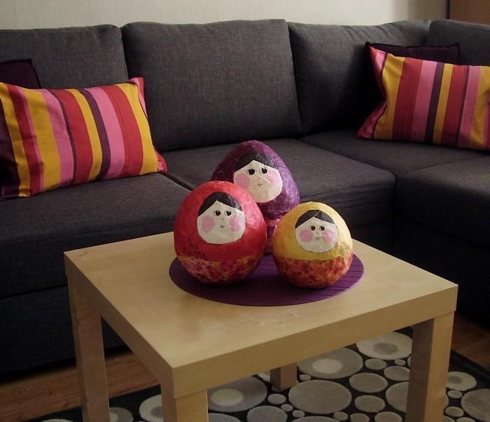 Pozostałe, Jak zmieniało się moje mieszkanie- konkurs - Matrioszki DIY