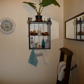 Łazienka w angielskim mieszkanku
