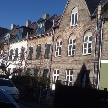Typowa zabudowa w starej części miasta