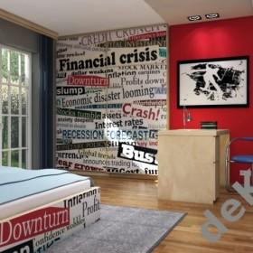 Pokój młodzieżowy - inspiracje www.dekea.pl